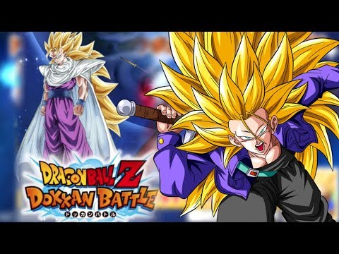 NEW SSJ3 GOHAN & SSJ3 TRUNKS OFFICIALLY INBOUND! Dragon Ball Z Dokkan Battle