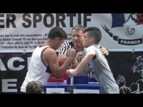 Championnat de France de bras de fer sportif 2016 Cam 1