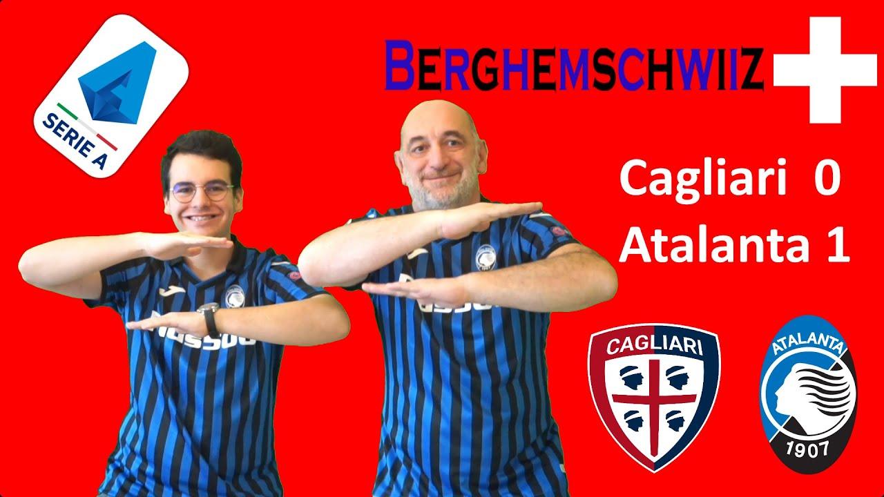 Cagliari Atalanta 0 1 live reactions | BRUTTA VITTORIA, BELLA VITTORIA,  GRANDE VITTORIA!!! - YouTube