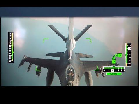 KC-30A Successfully refuels Multirole F-16 Fighter