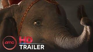 DUMBO - Official Trailer #2 (Colin Farrell, Michael Keaton, Danny DeVito)   AMC Theatres (2019)