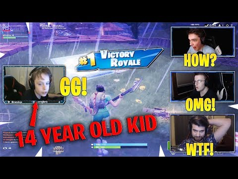 This 14 Year Old Kid Beats SypherPK, HD, Poach, Chap, NotVivid in Pro Scrims