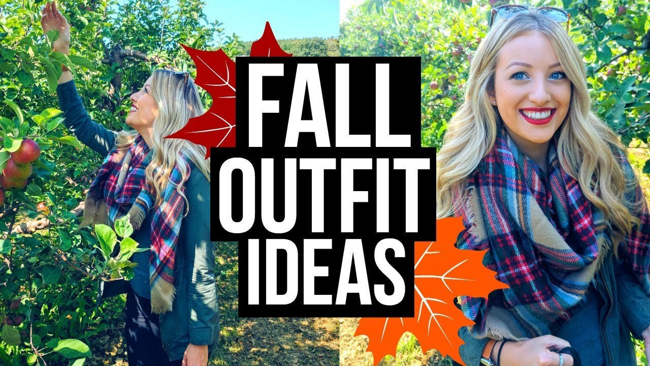 FALL OUTFIT IDEAS | Cute + Affordable! 2