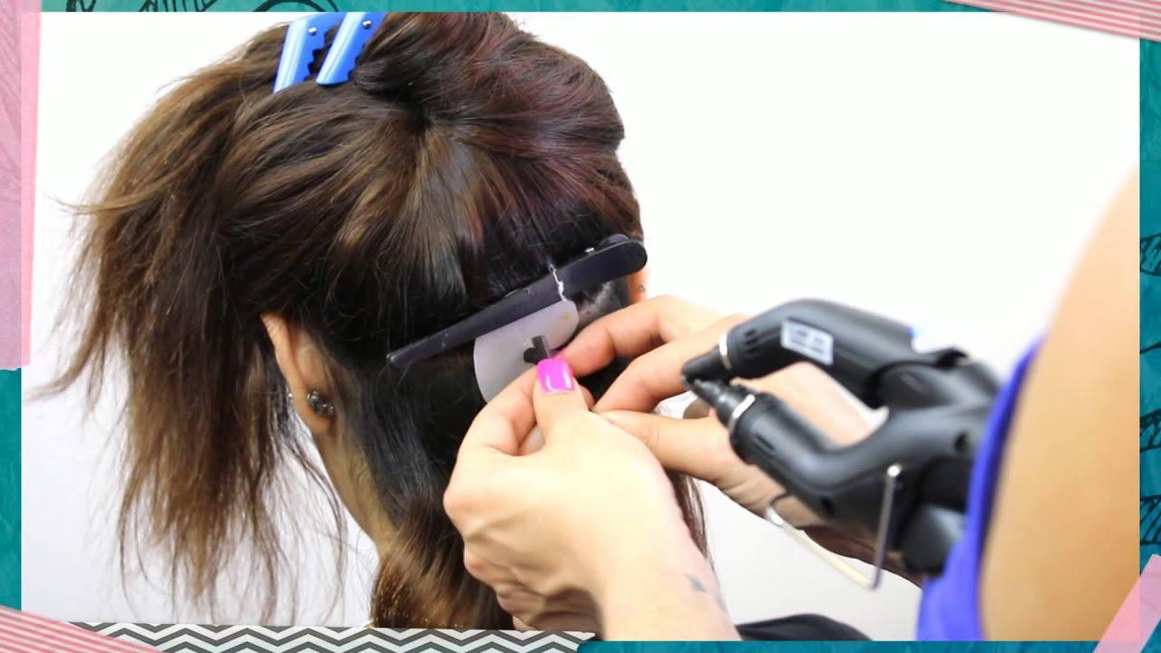Full head keratin bond ivy hair extensions before after youtube full head keratin bond ivy hair extensions before after pmusecretfo Images
