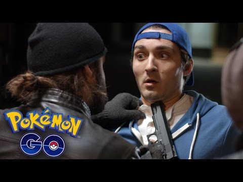 POKEMON GO ROBBERY!!!