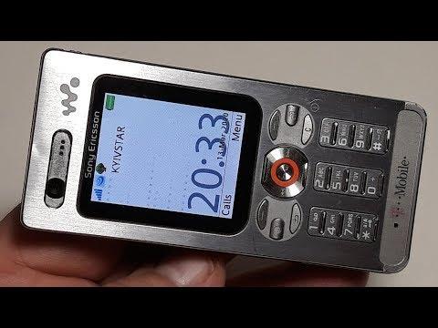 Sony Ericsson W880i T Mobile Walkman phone. Telefon aus Deutschland. Капсула времени
