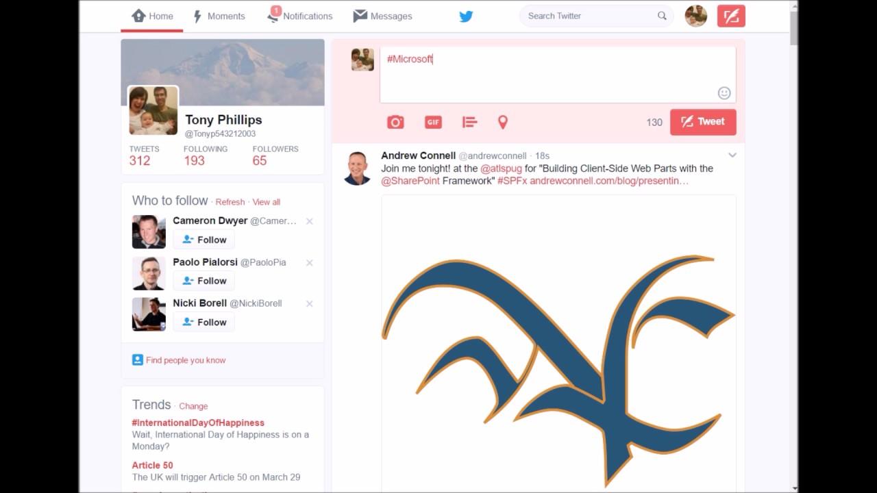 Saving Tweets to Excel using Microsoft Flow