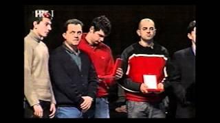 HOO 2001 - Hrvatski gluhi rukometaši zlatni na Olimpijskim igrama gluhih 2001, Roma, Italija