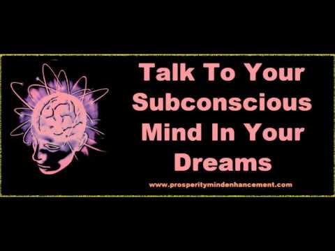 dreams unconscious mind
