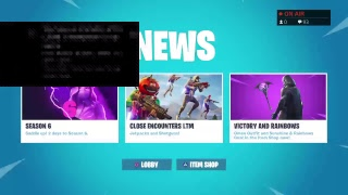 FORTNITE -decent console player new skins item shop