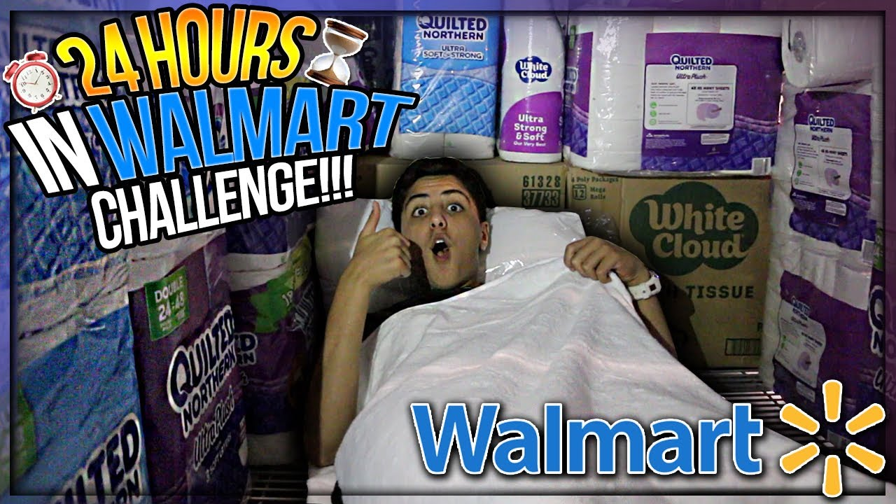 hour overnight challenge in walmart acirc deg insane toilet paper fort 24 hour overnight challenge in walmart acirc143deginsane toilet paper fort kicked out eth159152sup3