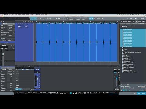 Quick Tip: Horizontal Timeline Drag & Drop With Audio Events In PreSonus Studio One