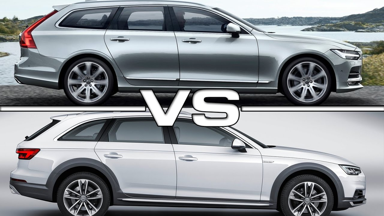 Volvo V90 Vs Audi A4 Allroad Quattro Youtube