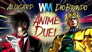 Anime Duel: Alucard vs Dio Brando
