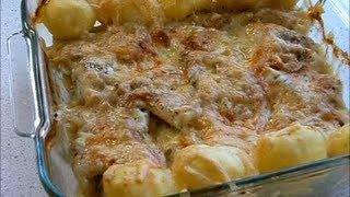 Рыба запеченная с сыром / Poisson au fromage  .wmv