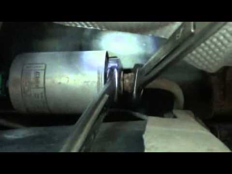 2002 Pontiac Grand Am Fuel Filter Replacement - YouTube