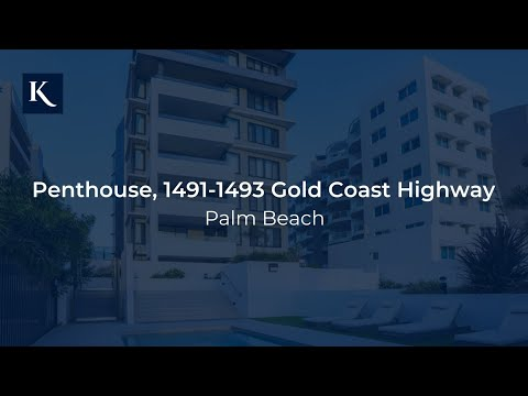 The Penthouse 'Temple Beach Apartments' 1491-1493 Gold Coast Highway, Palm Beach
