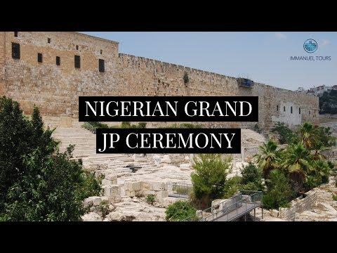 Grand JP Ceremony in Jerusalem - 2006
