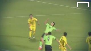 Phenomenal bicycle-kick goal from Lee Dong-Gook