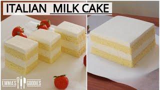 CONDENSED MILK CAKE recipe  ( Italian Torta Paradiso )