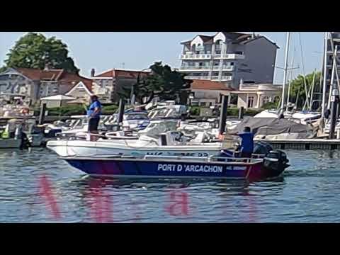 Fourriere au port d'Arcachon #shorts