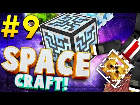 Minecraft SPACE CRAFT - EPIC Nuclear Reactors!! - Modded Survival #9