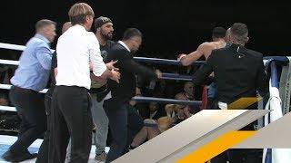 Box-Fight endet in übler Massenschlägerei | SPORT1