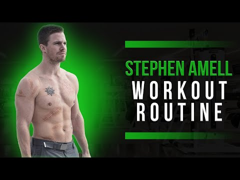 Stephen Amell Workout Routine Guide