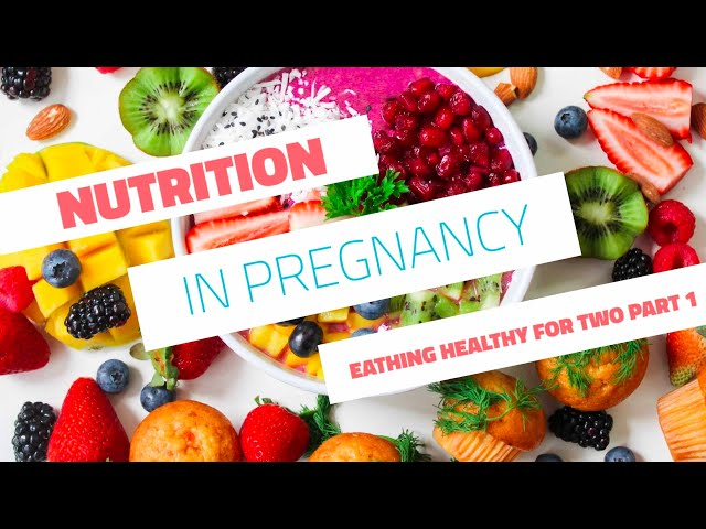 myObMD Nutrition In Pregnancy Pt  1 Video in English