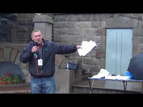 Песенка о балаболах на митинге НОДа в Челябинске