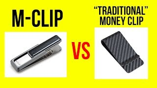 "M Clip Money Clip Review - The Unique M-Clip vs a ""Traditional"" Money Clip"