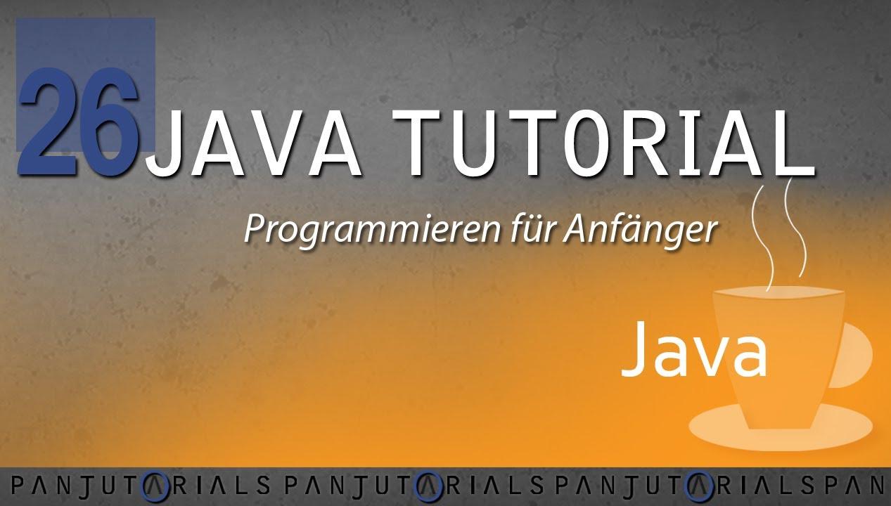 Java Tutorial Programmieren für Anfänger 26 -- Mehrdimensionale ...