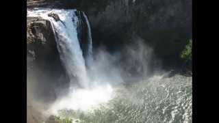 Most Famous And Amazing Waterfalls of Snoqualmie Falls, Washington, US