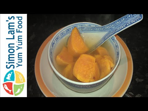 How to make Chinese Sweet potato soup- tong sui,番薯糖水 – Simon Lam's Yum Yum Food