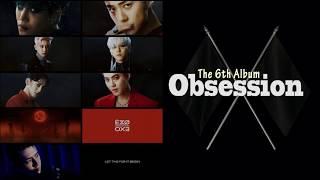 Gambar cover EXO (엑소) - OBSESSION The 6th Album  [Full Album]