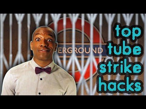 Top 5 London Life Hacks - TUBE STRIKE