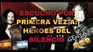 🇪🇸🇦🇷 ESCUCHO POR PRIMERA VEZ A: *HEROES DEL SILENCIO*- LA CHISPA ADECUADA [REACCION]