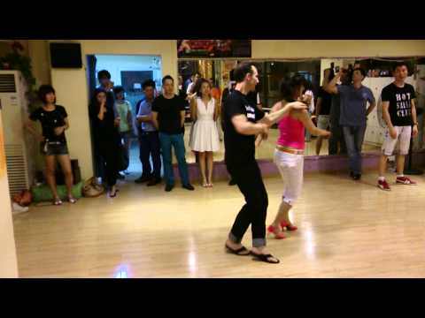 Patrick Siegert & Lily @ Hot Salsa Club Shanghai 140706