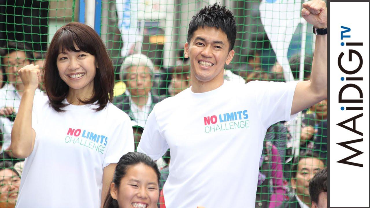 武井壮&高橋尚子が「車いすテニス」に興奮!「NO LIMITS SPECIAL GINZA ...