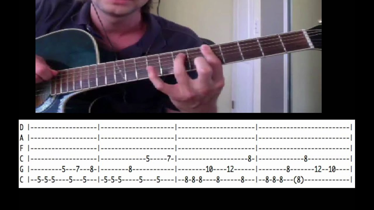 WITH TABS Guitar Lesson: