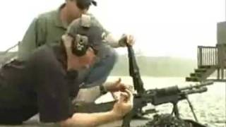 M60 Heavy Machine Gun shooting test