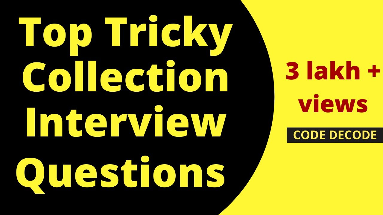 Java collections framework interview questions