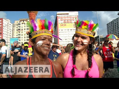 🇧🇷 Party time in Brazil: Dancing away troubles at Carnival