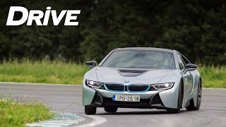 BMW i8 Road and Track Test by DRIVE Magazine [English subs]