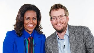 Writing and Marriage Advice from Michelle Obama