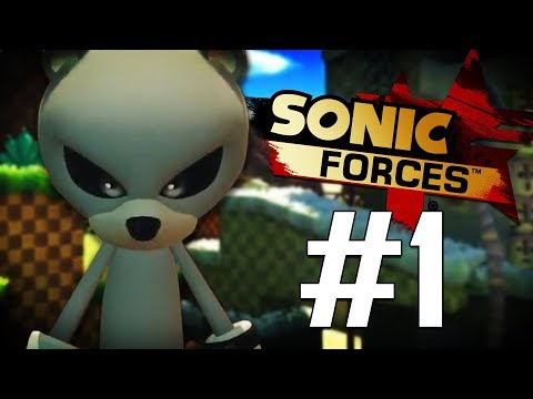 Jiren the Bear Joins the Resistance!! | Sonic Forces (PS4) - Part 1