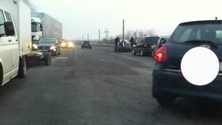 Accident Soseaua Cernica intersectie cu centura Bucuresti.9-ian-12