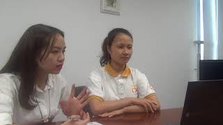 Phỏng vấn Skype lao động Nguyễn Thị Thu Hà- Đơn hàng điện tử Xuất khẩu lao động Bảo Minh