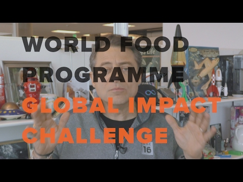 Peter Diamandis Announces The World Food Programme Global Impact Challenge | Singularity University