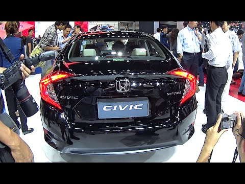 All New Honda Civic Sedan Black Edition Youtube